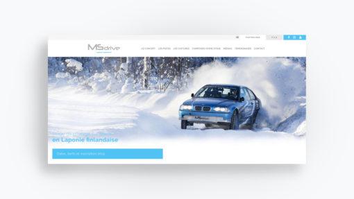 MS DRIVE Laponie
